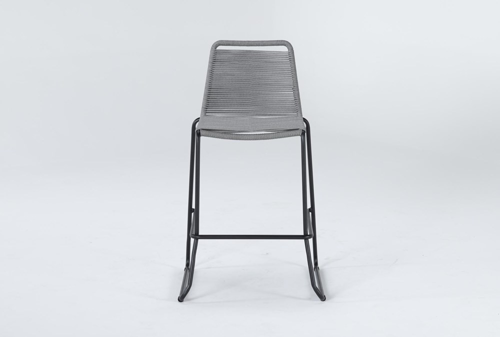 "Caspian Grey Outdoor 30"" Barstool"