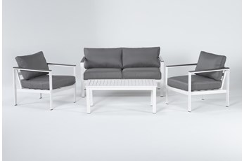 Richmond Outdoor 4 Piece Lounge Set