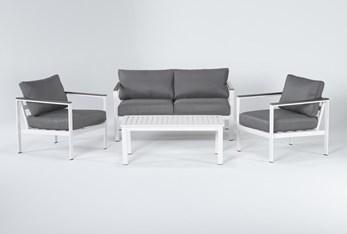 Richmond Outdoor 4 Piece Lounge Set