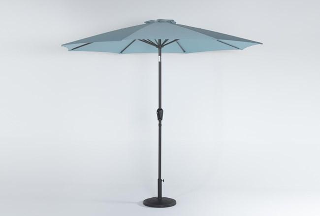 Outdoor Market Crystal Blue Umbrella  - 360