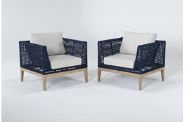 Crew Outdoor 2 Piece Lounge Set