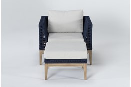 Crew Outdoor Lounge Chair/Ottoman