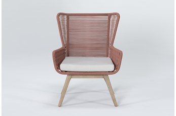 Caspian Terracotta Outdoor Lounge Chair