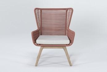 Caspian Terracotta Outdoor Lounge Chair