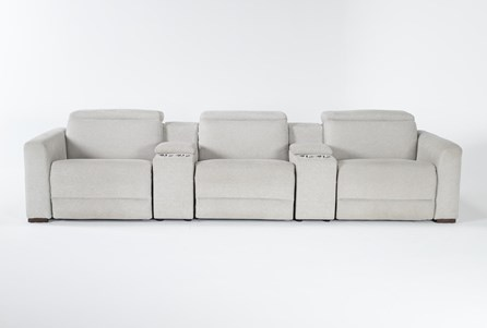 Chanel Grey 5 Piece Home Theater 135