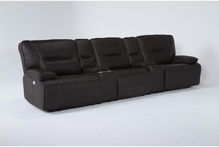 Marcus Chocolate 5 Piece Home Theater 108