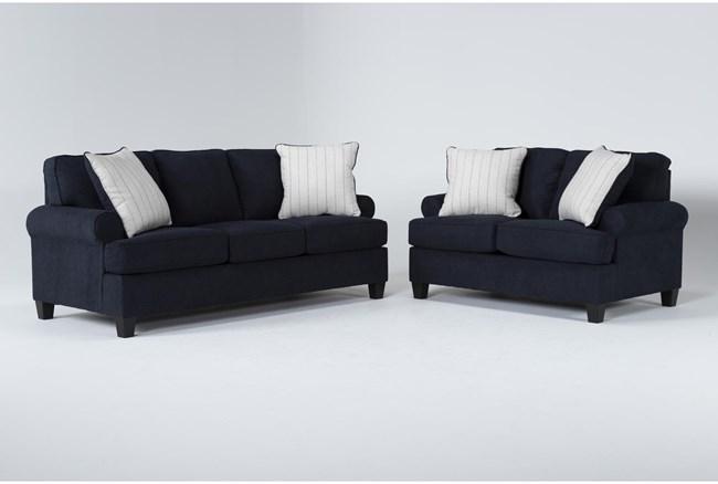 Cordelia Ink 2 Piece Living Room Set - 360