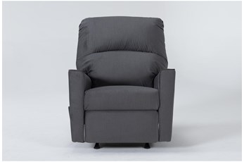 Romy Graphite Rocker Recliner