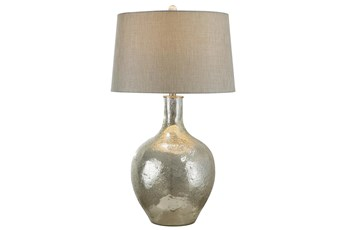 Table Lamp-Mercury Glass