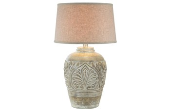 Table Lamp-Alabaster