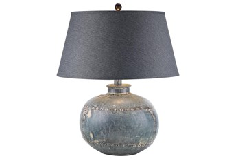 Table Lamp-Antique Grey