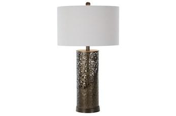 Table Lamp-Metal Rust