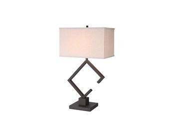 Table Lamp-Modern Rust