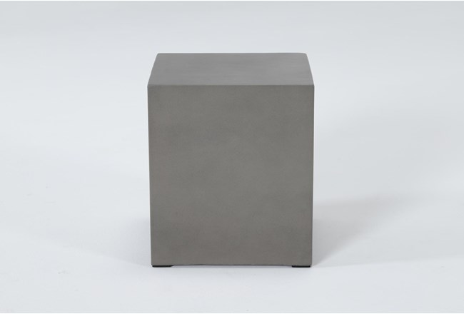 Concrete Square Outdoor Accent Table - 360
