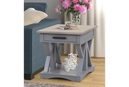 Americana Modern Grey End Table