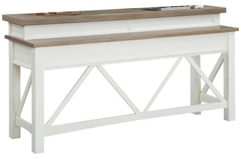 Americana Cotton Modern Everywhere Console Table