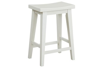 Americana Cotton Modern Counter Stool