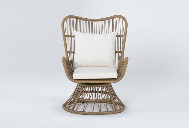 Boho Outdoor Swivel Chair - 360