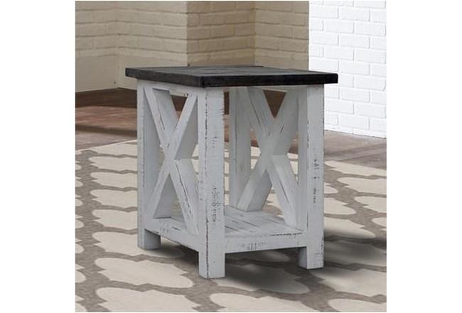 Mesa Chairside Table - 360