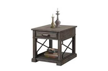 Sundance Smoked Grey End Table
