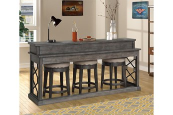 Sundance Smoked Grey Everywhere Console Table