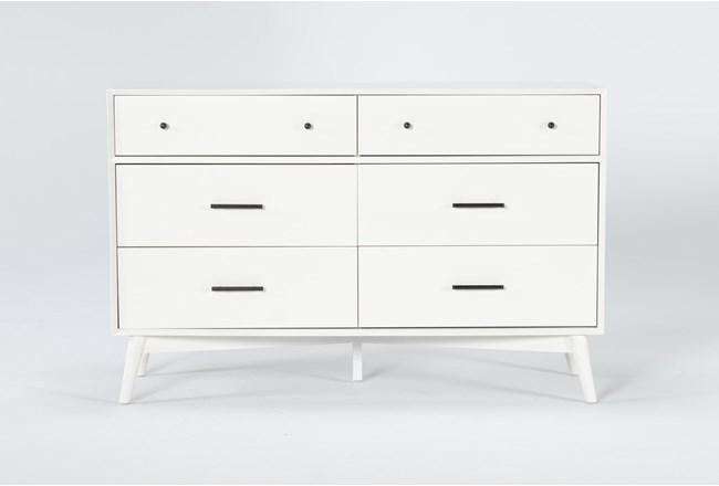 Alton White Ii 6 Drawer Dresser - 360