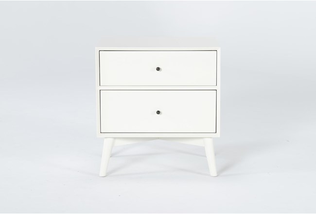 "Alton White II 26"" Nightstand - 360"