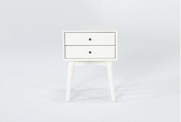 Alton White II Night Table