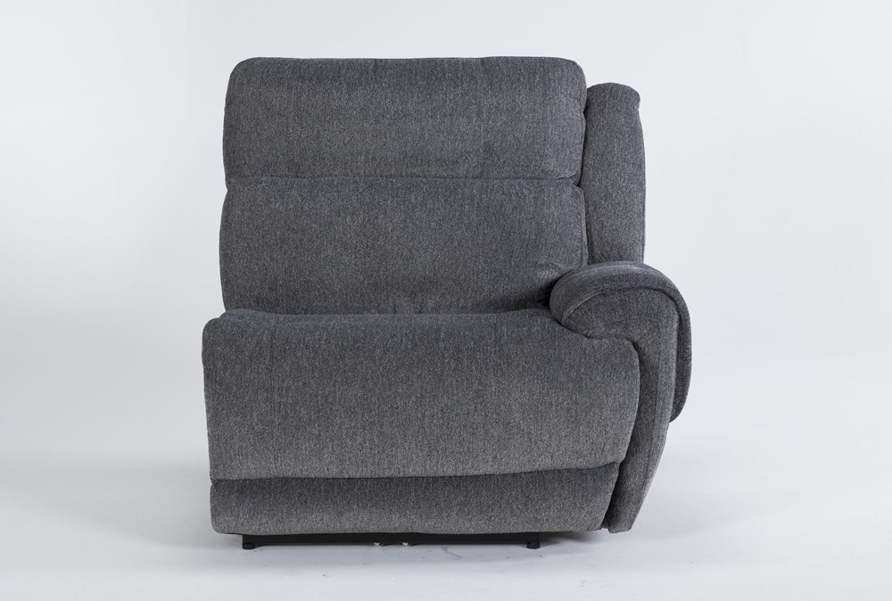 Terence Graphite Right Arm Facing Power Recliner With Power Headrest & Usb