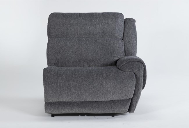 Terence Graphite Right Arm Facing Power Recliner With Power Headrest & Usb - 360