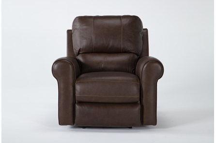 Thorsten Leather Power Recliner With Power Headrest & Usb - Main