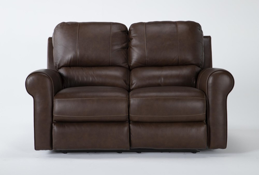 Thorsten Leather Power Reclining Loveseat With Power Headrest & Usb