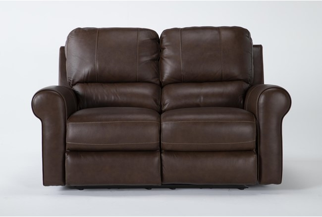 Thorsten Leather Power Reclining Loveseat With Power Headrest & Usb - 360