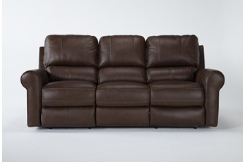 Thorsten Leather Power Reclining Sofa With Power Headrest & Usb