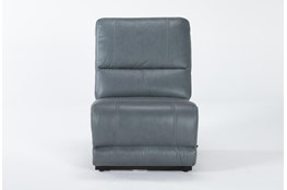 Watkins Blue Armless Recliner