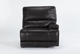 Watkins Coffee Right Arm Facing Power Recliner With Power Headrest & Usb