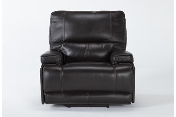 Watkins Coffee Power Recliner With Power Headrest & Usb