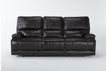 Watkins Coffee Power Reclining Sofa With Power Headrest & Usb