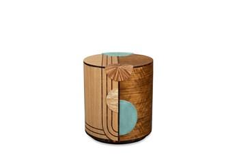 Round Multi Pattern Drum Table
