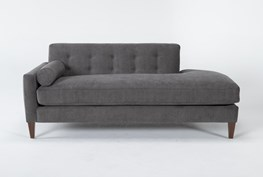 Serene Left Arm Facing Accent Chaise