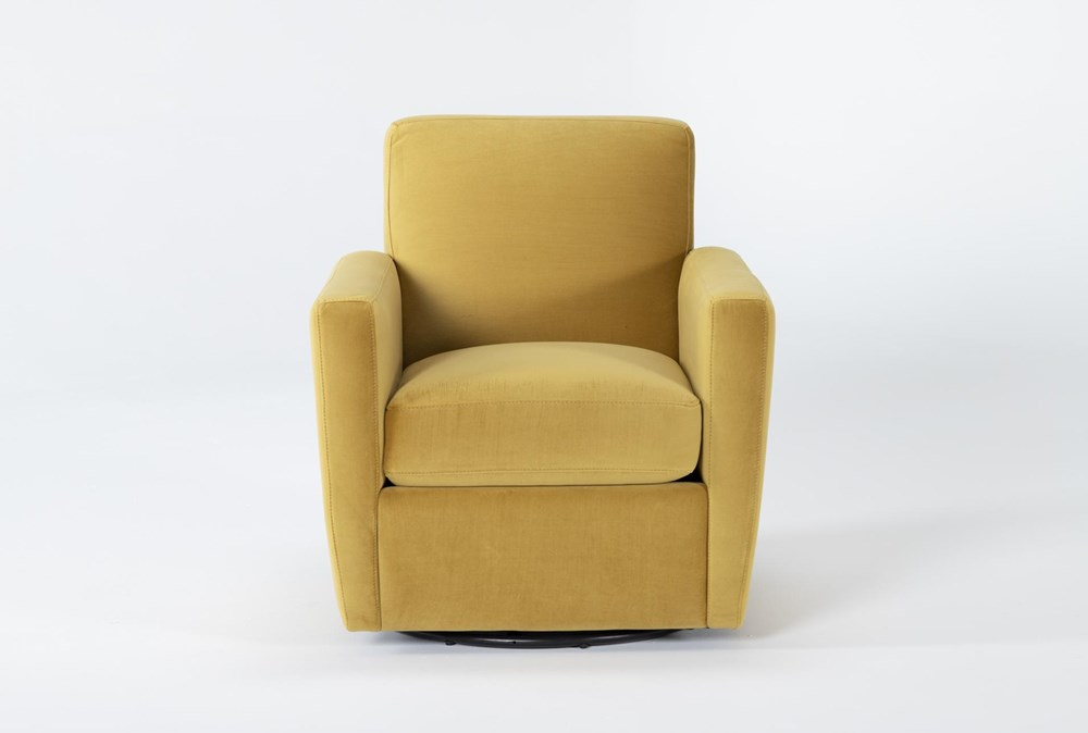 Besom Swivel Accent Chair