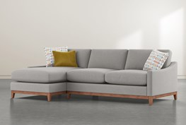 """Besom 2 Piece 112"""" Sectional With Left Arm Facing Chaise"""