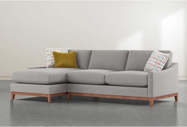 """Besom 2 Piece 112"""" Sectional With Left Arm Facing Chaise - 360"""