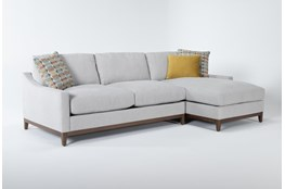 "Besom 2 Piece 112"" Sectional With Right Arm Facing Chaise"