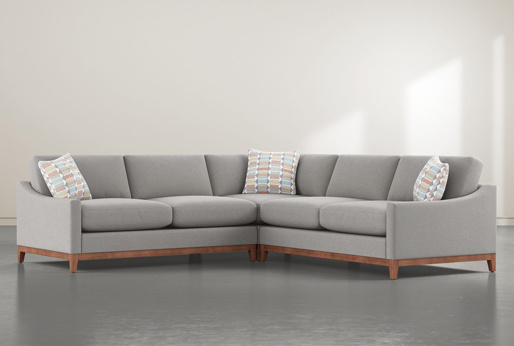 "Besom 3 Piece 122"" Sectional"