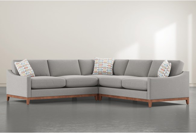 "Besom 3 Piece 122"" Sectional - 360"