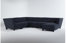 Benton IV 6 Piece Sectional With Right Arm Facing Chaise