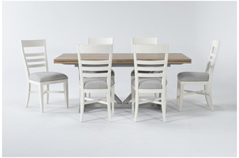 Ozzie White 7 Piece Dining Set