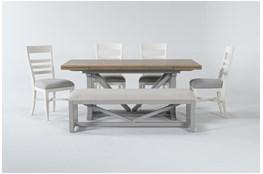 Ozzie White 6 Piece Dining Set