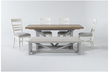 Ozzie White 6 Piece Dining Set